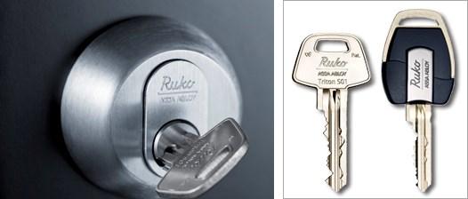 låse og nøgler fra ruko, få en montering af lås på Amager