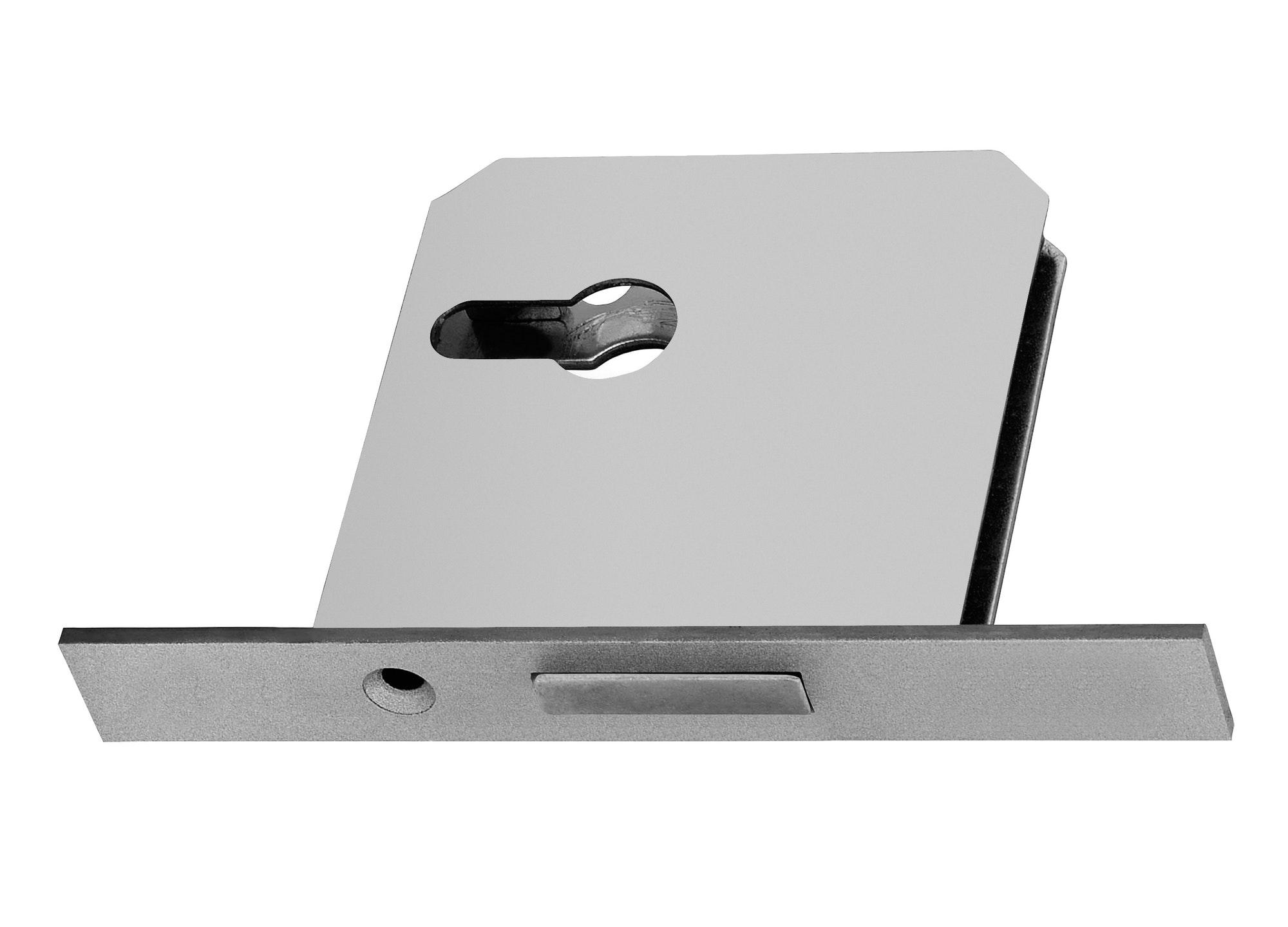 Billedet viser en låsekasse, som er en del af en lås som Låsesmed Amager arbejder med i sine låse.